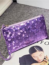 cheap -Women's Bags PU(Polyurethane) Clutch Zipper Silver / Purple / Light Gold