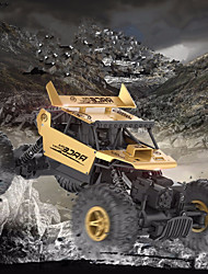 baratos -Carro com CR Flytec 9118 2 Canais 2.4G Rock Climbing Car / Off Road Car 1:18 20 km/h