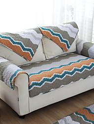 baratos -almofada do sofá Listrado / Geométrica Impressão Reactiva Algodão Capas de Sofa