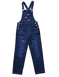 preiswerte -Kinder Mädchen Aktiv / Grundlegend Druck Druck Baumwolle Anzug & Overall