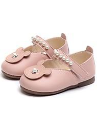 abordables -Fille Chaussures PU de microfibre synthétique Printemps & Automne Premières Chaussures Ballerines Scotch Magique pour Bébé De plein air