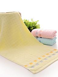 Недорогие -Высшее качество Полотенца для мытья, Полосы / волосы Полиэстер / хлопок / Чистый хлопок 1 pcs