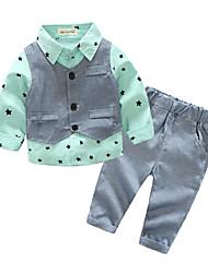 cheap -Baby Boys' Color Block Long Sleeve Clothing Set