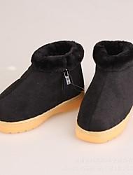 preiswerte -Mädchen Schuhe Vlies Winter Stiefeletten / Komfort Stiefel für Junior Draussen Purpur / Fuchsia / Rot