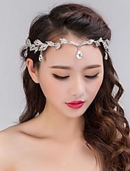 baratos -Liga Headbands / Peça para Cabeça com Pedrarias 1pç Casamento / Festa / Noite Capacete