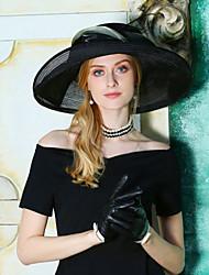 economico -Tulle cappelli con Piume / Fiocco 1pc Occasioni speciali / Party / serata Copricapo
