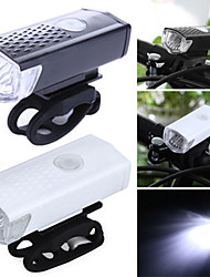 cheap -Front Bike Light / Headlight LED Cycling Waterproof, Portable, Quick Release 400 lm Rechargeable Batteries White Camping / Hiking / Caving / Cycling / Bike