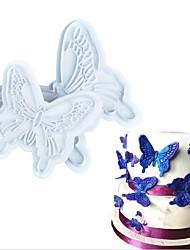 Недорогие -2шт бабочка помада торт пресс-форма резак салфетка пресс-формы плунжера