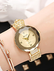 cheap -Women's Wrist Watch Chinese New Design Alloy Band Luxury / Fashion Silver / Gold / Rose Gold / Sony SR920SW / Two Years
