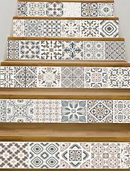 Недорогие -Декоративные наклейки на стены - 3D наклейки Абстракция / Геометрия Гостиная / Кабинет / Офис