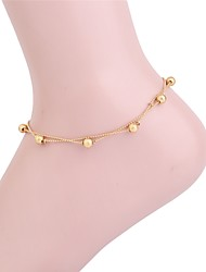 cheap -Layered Anklet - Simple, Fashion, Multi Layer Gold For Daily / Bikini