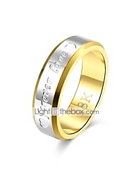 economico -Band Ring - Vintage, Essenziale 8 / 9 Oro Per Regalo / Quotidiano