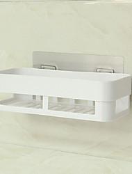 Недорогие -Крючки Противоскользящий Современный современный Пластик 1pack Украшение ванной комнаты