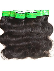 cheap -Indian Hair / Body Wave Wavy Virgin Human Hair / Remy Human Hair Human Hair Extensions / Weave 10 Bundles Human Hair Weaves Soft / Smooth / For Black Women Natural Black Human Hair Extensions Women's