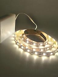 Недорогие -ZDM® 2м Гирлянды 300 светодиоды 2835 SMD Тёплый белый / Холодный белый Можно резать / Подсветка для авто / Самоклеющиеся Аккумуляторы AA 1шт