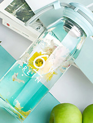 Недорогие -Drinkware Высокое боровое стекло Бокал Компактность / Теплоизолированные 1pcs