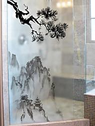 cheap -Window Film & Stickers Decoration Simple Simple PVC Window Sticker / Matte / Water-Repellent