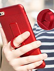 abordables -Funda Para Apple iPhone X / iPhone 8 con Soporte Funda Trasera Un Color Suave TPU para iPhone X / iPhone 8 Plus / iPhone 8