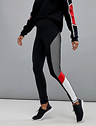 cheap -Women's Basic Sweatpants Pants - Color Block