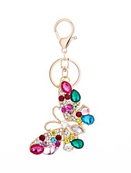 cheap -Butterfly Keychain Gold Alloy Casual, Fashion For Gift / Daily
