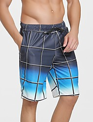abordables -SBART Homme Shorts de Natation Etanche, Séchage rapide, Vestimentaire Polyester / Spandex Maillots de Bain Tenues de plage Shorts de Surf Surf / Plage / Sports Nautiques