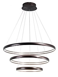 cheap -LightMyself™ Circular Chandelier Ambient Light - Adjustable, 110-120V / 220-240V, Warm White / Dimmable With Remote Control, Bulb Included