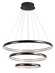 baratos -LightMyself™ Circular Lustres Luz Ambiente - Ajustável, 110-120V / 220-240V, Branco Quente / Dimmable Com Controle Remoto, Lâmpada