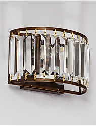cheap -Crystal / Mini Style Traditional / Classic Flush Mount wall Lights Living Room / Indoor Metal Wall Light 110-120V / 220-240V 45W