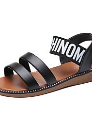 お買い得  -女性用 靴 TPU 夏 コンフォートシューズ サンダル ローヒール のために アウトドア ホワイト / ブラック