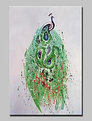 abordables -Peinture à l'huile Hang-peint Peint à la main - Pop Art Bande dessinée Moderne Toile