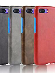 economico -Custodia Per Huawei Honor 10 Decorazioni in rilievo Per retro Tinta unita Resistente pelle sintetica per Huawei Honor 10