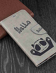cheap -Case For Xiaomi Redmi 5 Plus / Redmi 5 Wallet / Card Holder / with Stand Full Body Cases Panda Hard PU Leather for Xiaomi Redmi Note 5A / Xiaomi Redmi Note 4X / Xiaomi Redmi Note 4