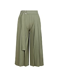 cheap -Women's Cotton Loose Wide Leg Pants - Solid Colored / Going out