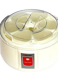Недорогие -Создатель йогурта Новый дизайн / Полностью автоматический Нержавеющая сталь / ABS Машина для йогурта 220-240 V 15 W Кухонная техника