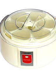 cheap -Yogurt Maker New Design / Full Automatic Stainless steel / ABS Yogurt Machine 220-240 V 15 W Kitchen Appliance
