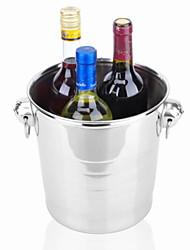 baratos -Baldes de Gelo e Refrigeradores de Vinho Aço Inoxidável, Vinho Acessórios Alta qualidade Criativo para Barware Fácil Uso 1pç