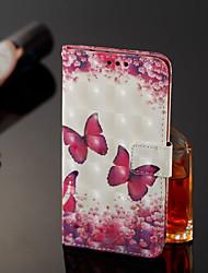 abordables -Funda Para Xiaomi Redmi Note 5 Pro / Xiaomi Mi Mix 2S Cartera / Soporte de Coche / con Soporte Funda de Cuerpo Entero Mariposa Dura Cuero de PU para Xiaomi Redmi Note 5 Pro / Xiaomi Mi Mix 2S