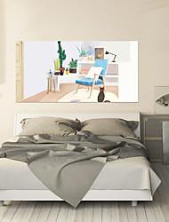 baratos -Autocolantes de Parede Decorativos - Autocolantes 3D para Parede Abstrato / Vida Imóvel Sala de Estar / Quarto