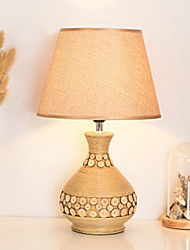 baratos -Tradicional / Clássico Decorativa Luminária de Mesa Para Madeira / Bambu 220-240V