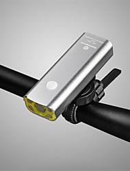 Недорогие -Велосипедные фары Передняя фара для велосипеда Фары для велосипеда Велоспорт Водонепроницаемый Простота транспортировки Литий-ионная 400 lm Заряд батареи USB Естественный белый
