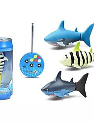 Недорогие -RC Дрон Small Sharks BNF 10.2 CM 2.4G Квадкоптер на пульте управления Пульт Yправления / 1 USB кабельный ввод