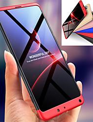 abordables -Coque Pour Xiaomi Xiaomi Mi Mix 2S Antichoc Coque Intégrale Couleur Pleine Dur PC pour Xiaomi Mi Mix 2S