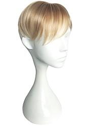 Недорогие -Муж. Искусственные волосы Накладки для мужчин Прямой Машинное плетение Кейс / новый / Новое поступление