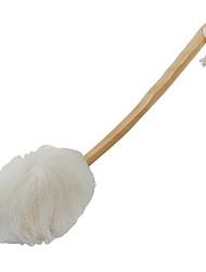 economico -Spazzola da bagno Semplice Moderno Plastica / Legno 1pc organizzazione del bagno