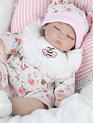 cheap -NPKCOLLECTION Reborn Doll Baby Girl 18 inch Silicone - lifelike Kid's Girls' Gift
