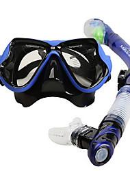 economico -SABOLAY Contenitori per immersioni / Diving Pacchetti - Maschera da sub, Boccaglio - Antinebbia, Impermeabile, Valvola asciutta Immersioni, Snorkeling Silicone  Per Adulto