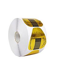 abordables -500pièces Nail Art Forms Nail Wraps Manucure Manucure pédicure Forme ronde / Haute qualité Décontracté / Quotidien