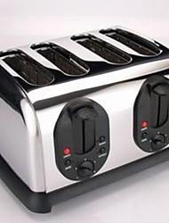 abordables -Grille-pain et grils Design nouveau Acier inoxydable Grille-pain 220-240 V 1450-1750 W Appareil de cuisine