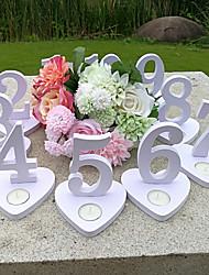Недорогие -деревянный Пластмассовая коробка Церемония украшения - Свадьба Свадьба
