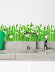 economico -Adesivi decorativi da parete - Adesivi aereo da parete Floreale / Botanical Camera da letto / Camera dei bambini